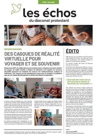 Photo de l'actualité LES ECHOS DU DIACONAT